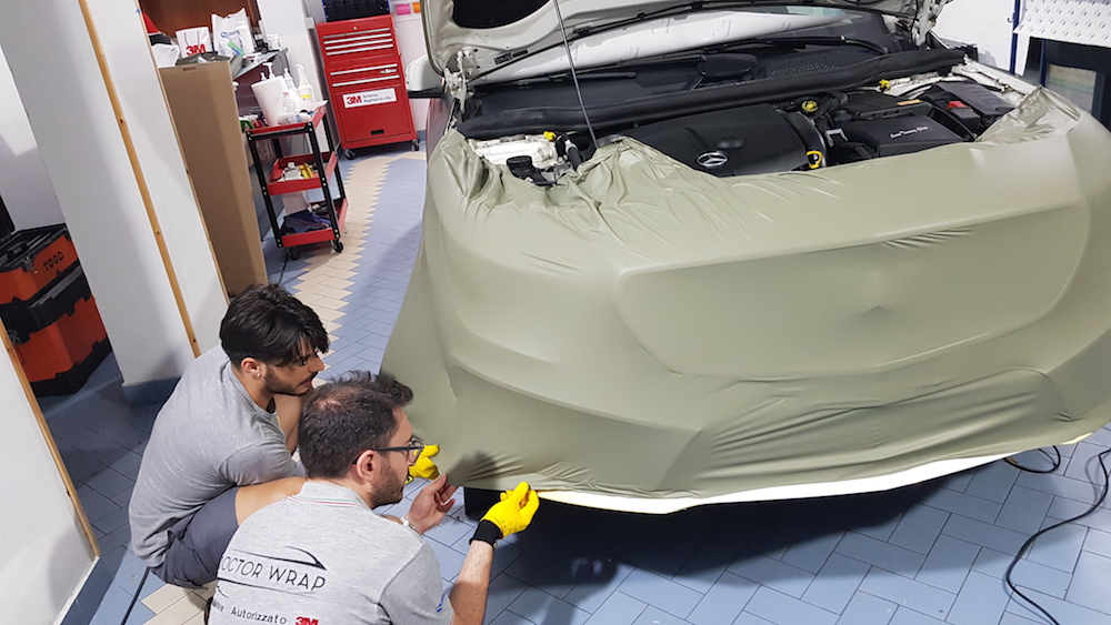 Wrapping Mercedes CLA