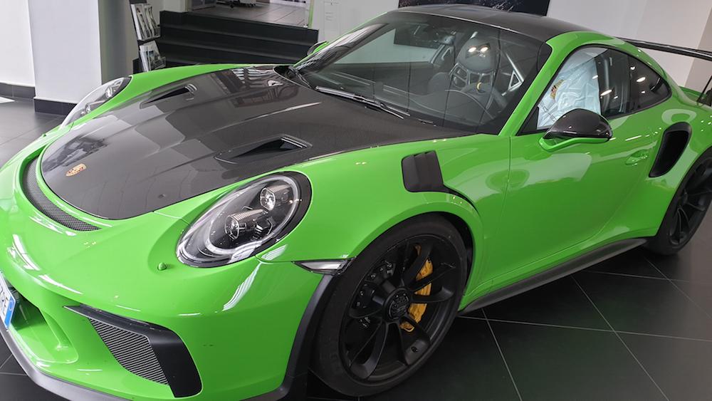 Detailing Porsche GT3 RS