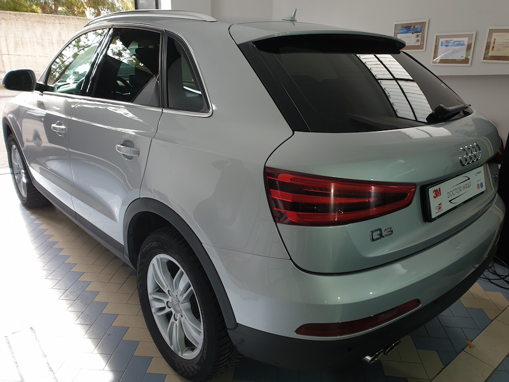 Oscuramento Vetri Audi Q3