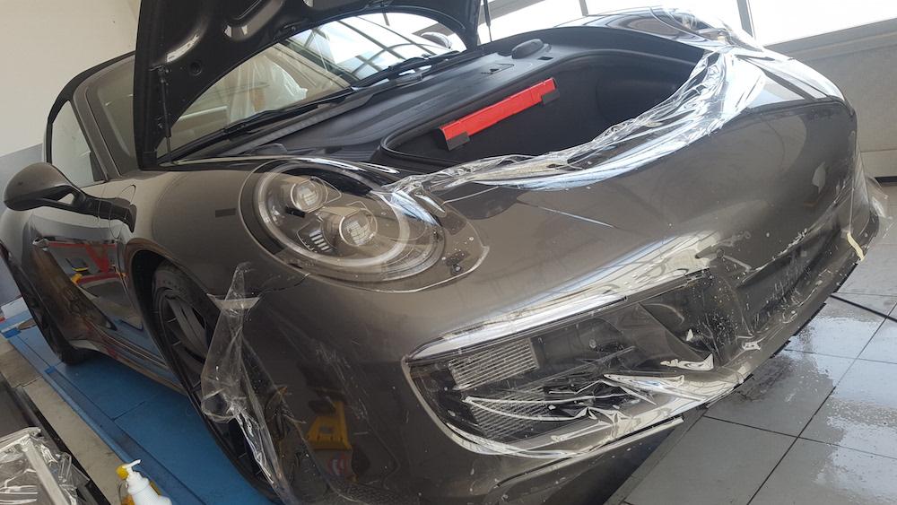 Pellicola Protettiva Porsche 911 Targa